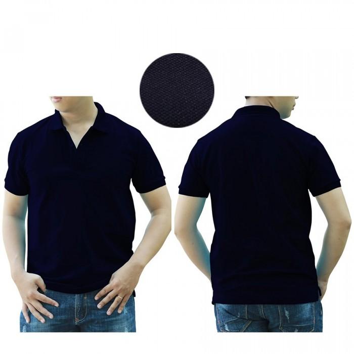 1H navy blue polo shirt