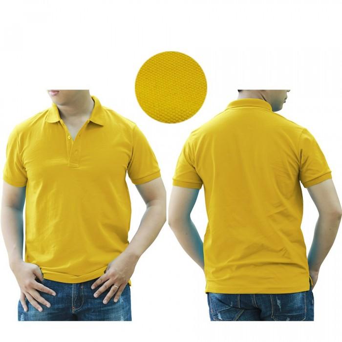 1H yellow polo shirt