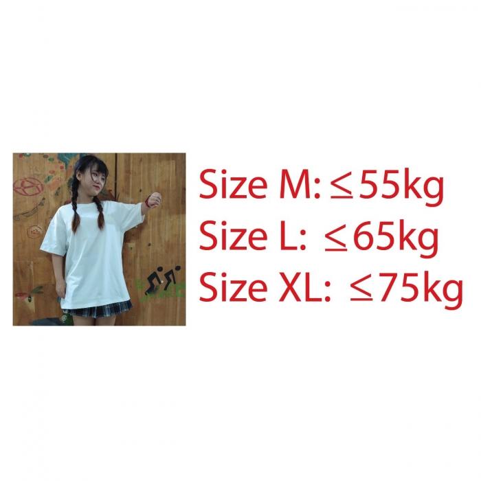 Black unisex tee lulo 100% cotton, big size, oversize, soft and nice - 5