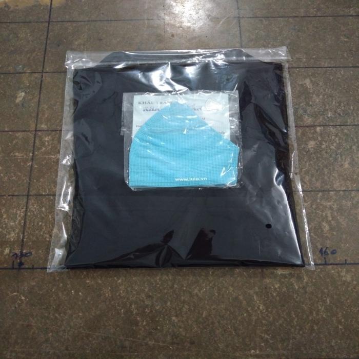 Áo croptop polo đen lulo 100% cotton, cổ bẻ, mềm mịn, dày đẹp - 4