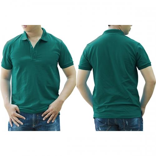 Polo shirt with pocket - Jade
