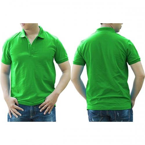 Polo shirt with pocket - Banana green
