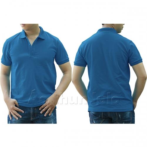 Polo shirt with pocket - Yamaha blue