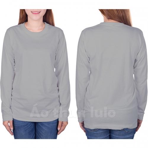 Long sleeves t-shirt - Grey melange