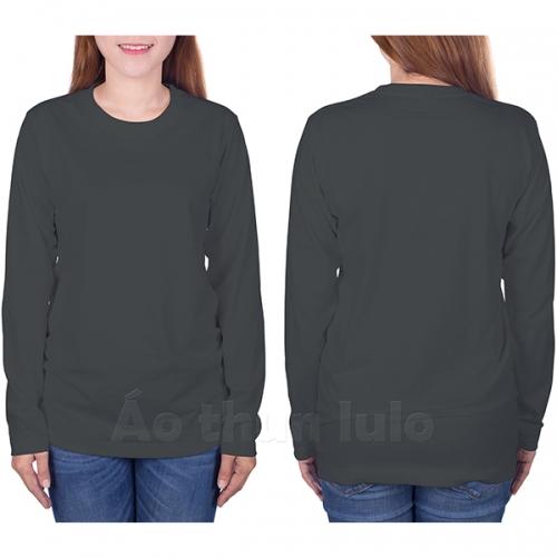 Long sleeves t-shirt - Dark grey