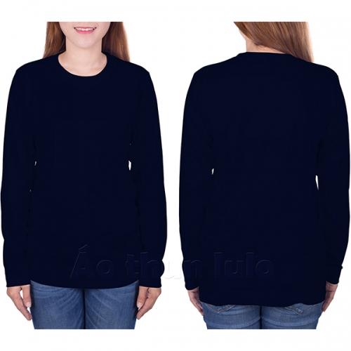Long sleeves t-shirt - Navi blue