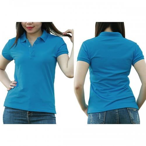 Polo shirt - Air blue