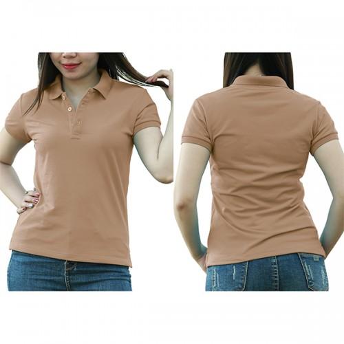 Polo shirt - Coffee