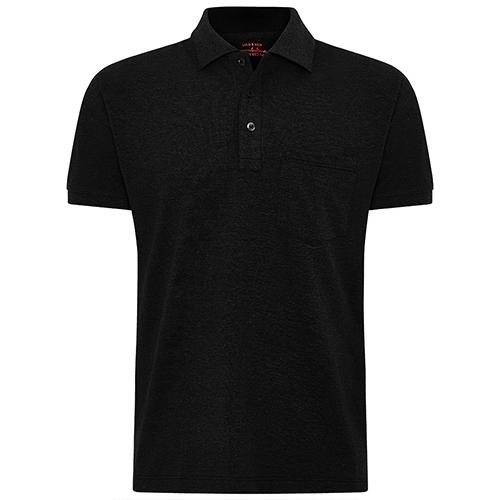 Amazon USA exporting black pocket polo shirt